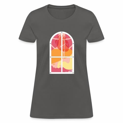 Window to your heart. - Women's T-Shirt