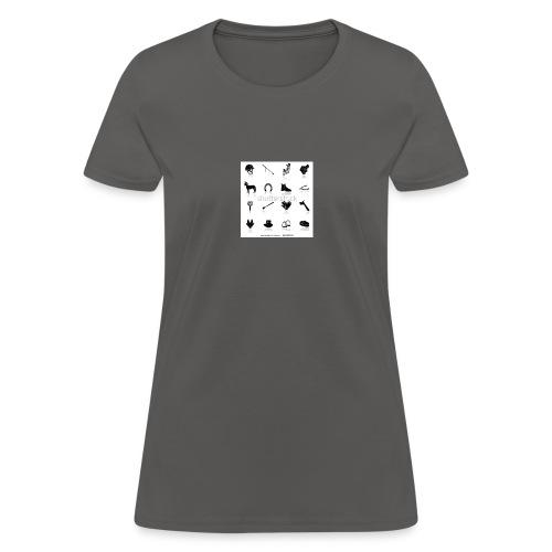 horse tack shirt - Women's T-Shirt