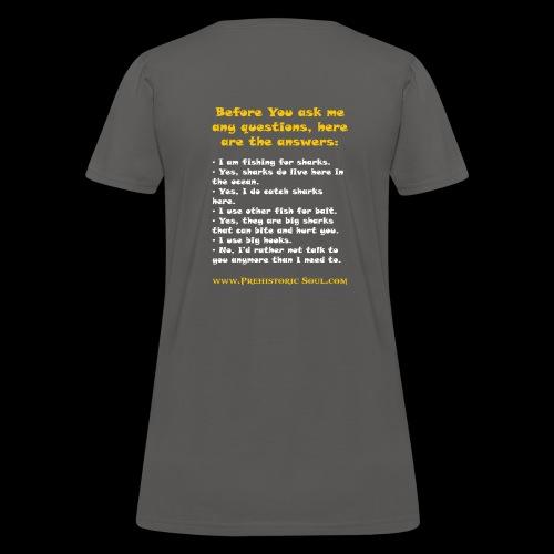 Surf Shark T-Shirts - Women's T-Shirt