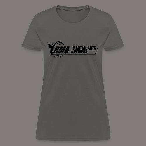 RMA-full-logo-Front-1clr- - Women's T-Shirt