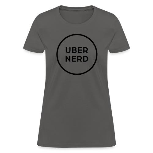 uber nerd logo - Women's T-Shirt