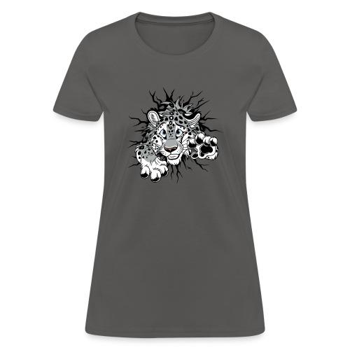 STUCK Snow Leopard (double-sided) - Women's T-Shirt