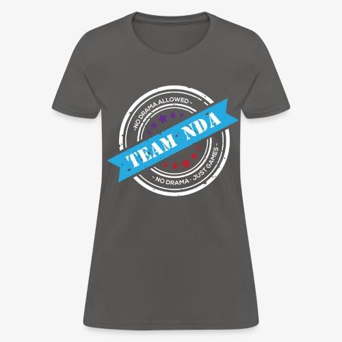 TeamNDA_White - Women's T-Shirt
