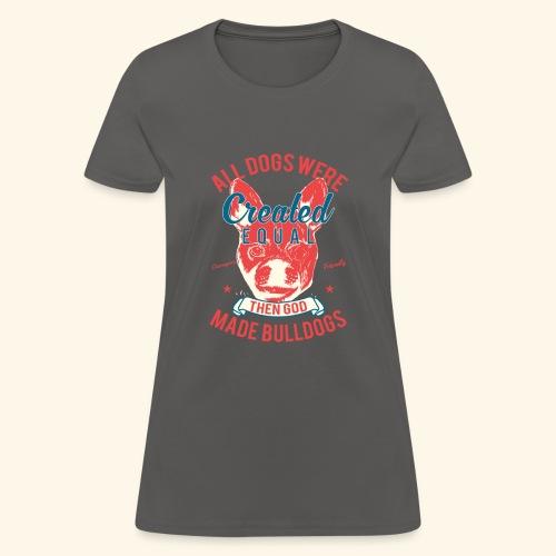 Bulldog - Women's T-Shirt