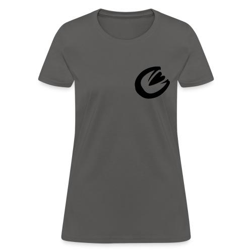 Ekviba Equestrian horse hoofprint - Women's T-Shirt