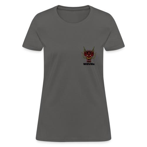 Red Dragon/WillVille - Women's T-Shirt