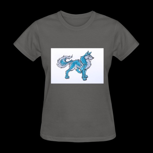 Draw Anime Wolves Intro - Women's T-Shirt