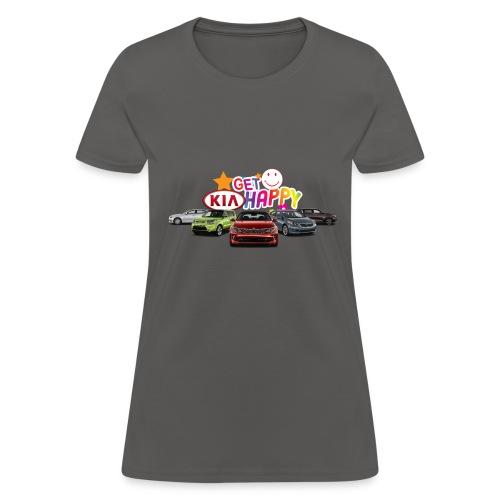 Get Kia Happy - Women's T-Shirt