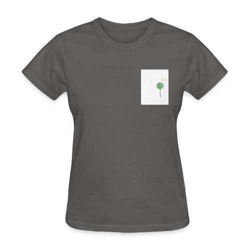 Tree with Crown - Women's T-Shirt