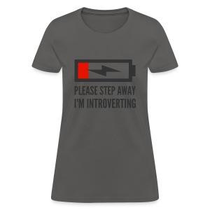 introverting - Women's T-Shirt