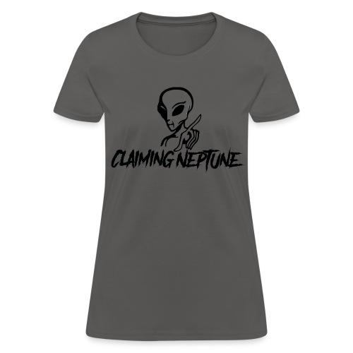 The Original Claiming Neptune Logo - Women's T-Shirt