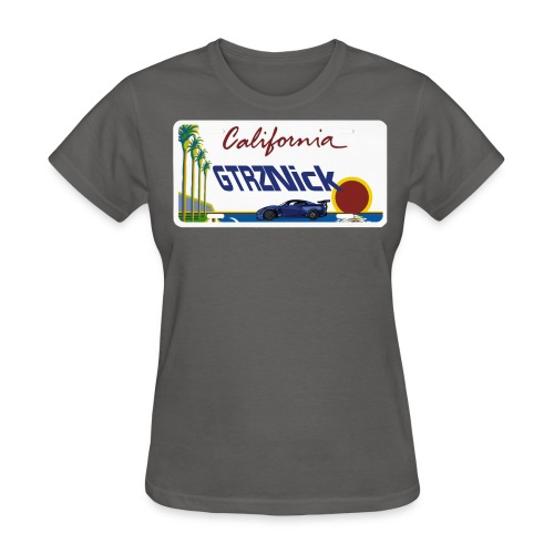GTRZ Licence Plate - Women's T-Shirt