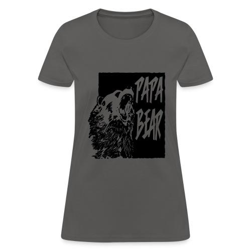 Papa bear - Women's T-Shirt