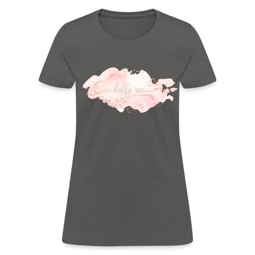 Pink Watercolor Splash - Women's T-Shirt