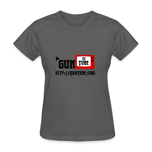 GunTube Shirt with URL - Women's T-Shirt