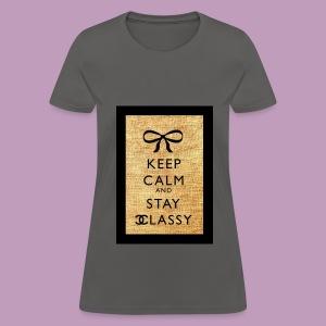 Chanel Keep Calm - Women's T-Shirt