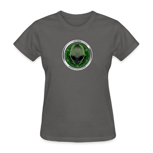New Alien Investigations Head Logo - Women's T-Shirt