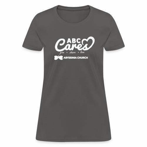 ABC Cares (Reversed) - Women's T-Shirt