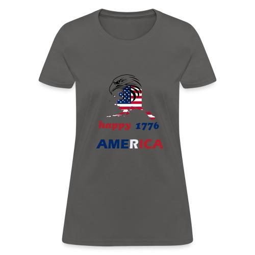 happy america 4th of july 1776 - Women's T-Shirt