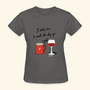 It takes two - Women's T-Shirt