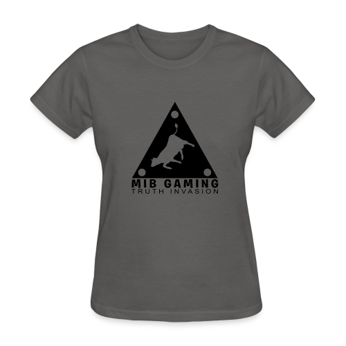 MIB LOGO: TRUTH INVASION TRIANGLE UFO - Women's T-Shirt