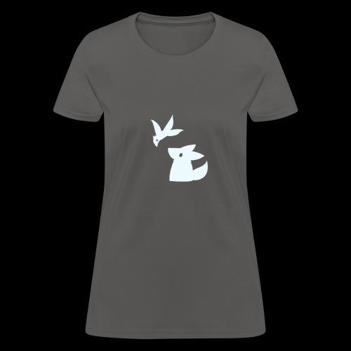 Fluffy hollow logo - Women's T-Shirt