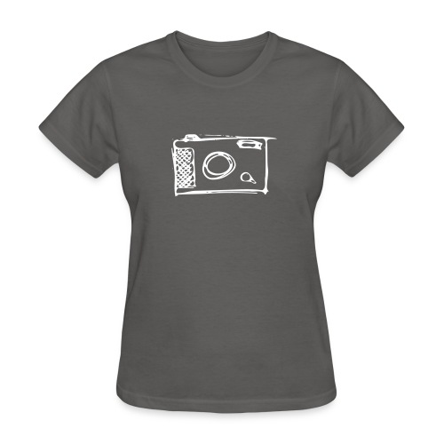 Camera hand-drawn - Women's T-Shirt