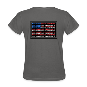 Mayo AMERICAN logo - Women's T-Shirt