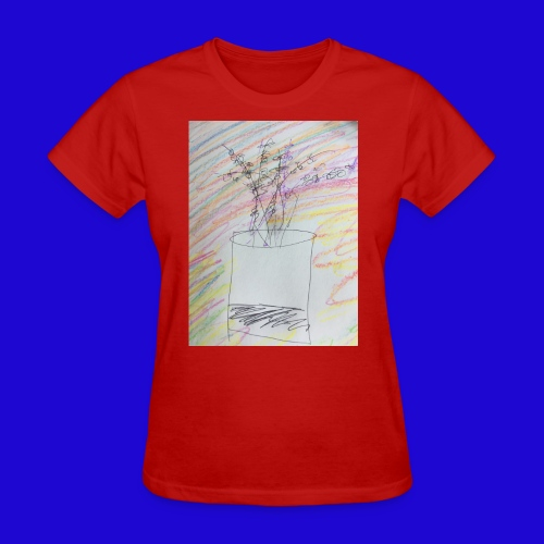 Lazy Artwork - Women's T-Shirt