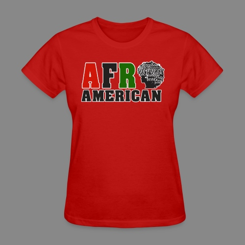 Afro American RBG - Women's T-Shirt