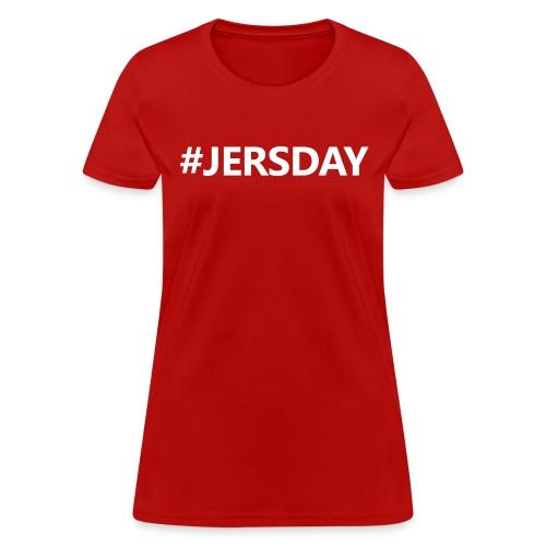 #JERSDAY - Women's T-Shirt