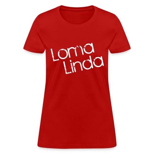 lomalinda white - Women's T-Shirt