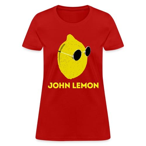 JohnLemon Print2 png - Women's T-Shirt