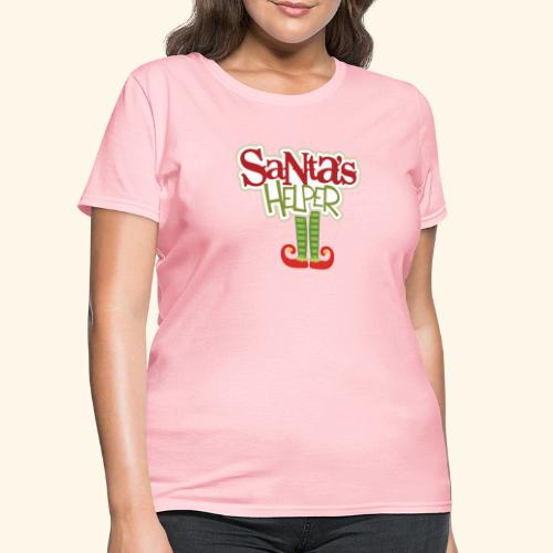 ELF FEET Santa's Helper Christmas tee - Women's T-Shirt