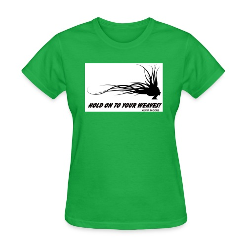 YOUR WEAVES jpg - Women's T-Shirt