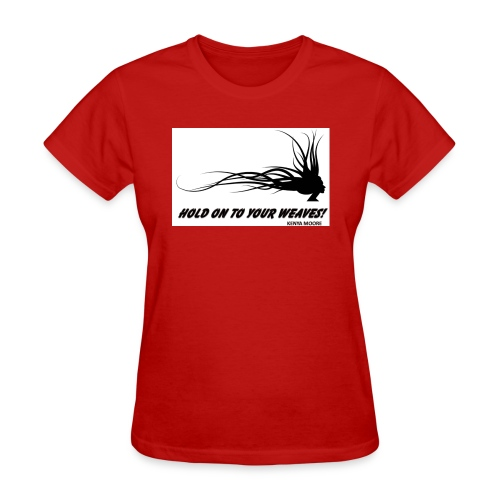 YOUR WEAVES jpg - Women's T-Shirt