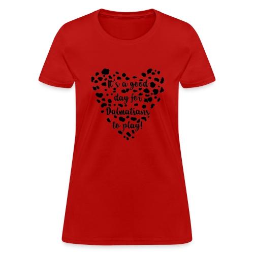 Dalmatians Play - Women's T-Shirt