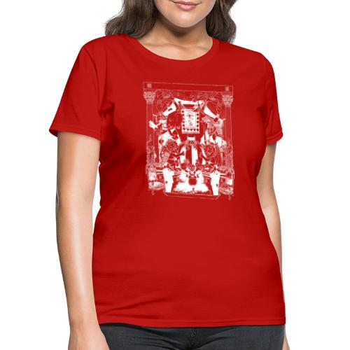 black chai tee white - Women's T-Shirt