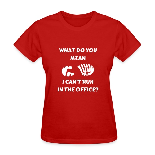 Office Running - Women's T-Shirt