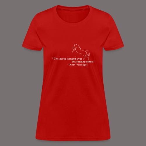 Kurt Vonnegut Sports Journalist - Women's T-Shirt