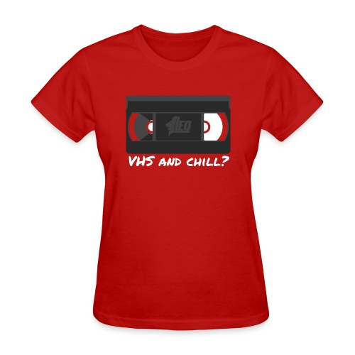 VHS and Chill png - Women's T-Shirt