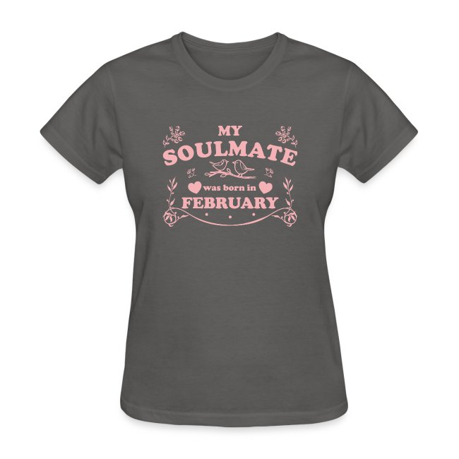 My Soulmate was born in February
