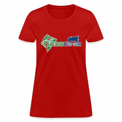 BassGeek Logo - Women's T-Shirt
