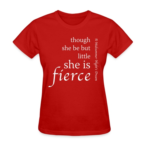 She Is Fierce Midsummer - Women's T-Shirt