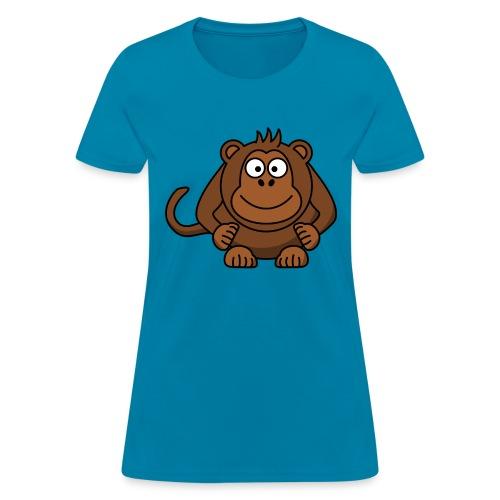 Funny Monkey - Women's T-Shirt