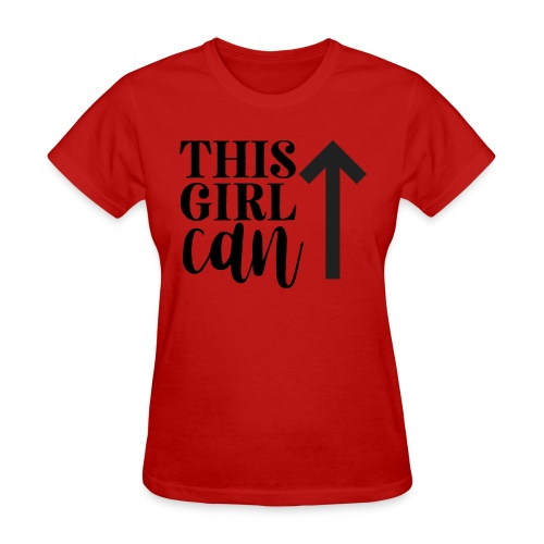 this girl can - Women's T-Shirt