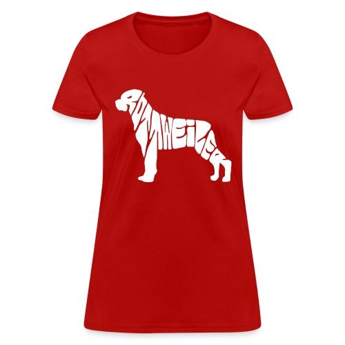 01 ROTTWIELER copy - Women's T-Shirt