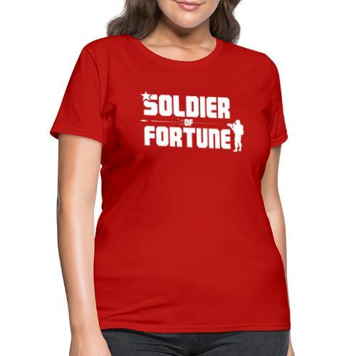 SOF Logo White - Women's T-Shirt