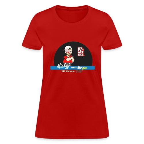 Mickyj - Kill malware dead (Red) - Women's T-Shirt