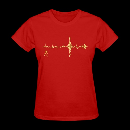Sound Wave Arrow - Women's T-Shirt